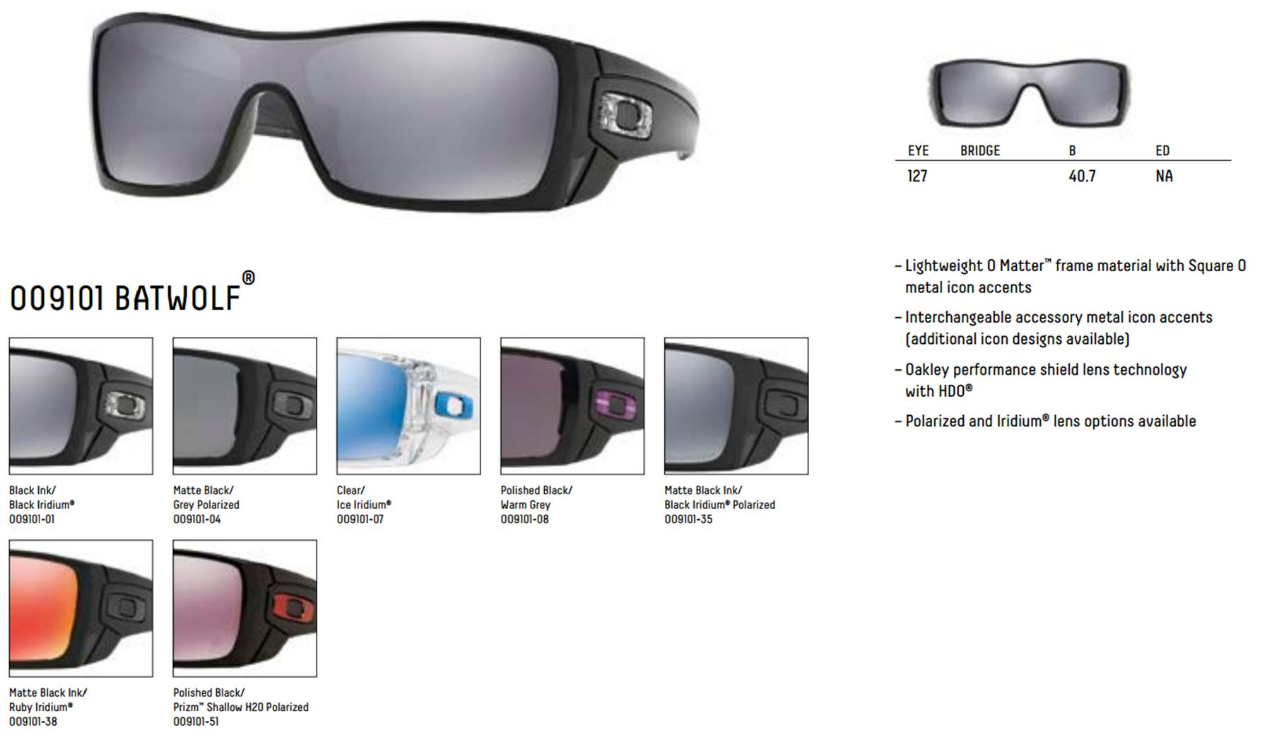 ec52abef256 Oakley Batwolf Sunglasses Icon « One More Soul