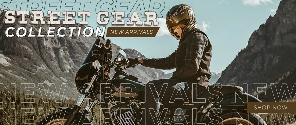Motorcycle Street Gear New Arrivals!