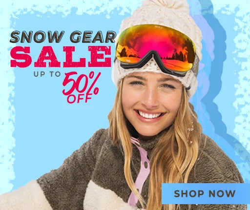 Snow Gear Sale Up to 50% Off!