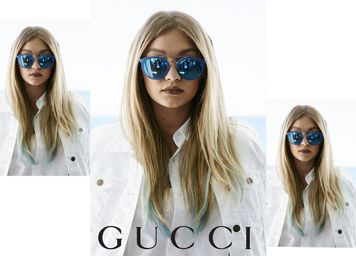 17eb373283c1 Gucci Eyewear Women Fashion Polarized Round Sunglasses Designer ...