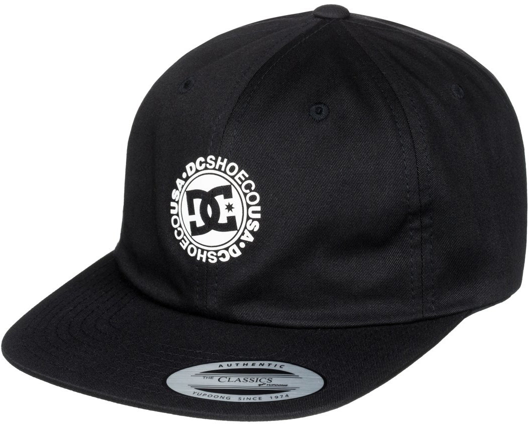 DC Shoes 2018 94 Collection Core Twill Dad Hat Black - KVJ0