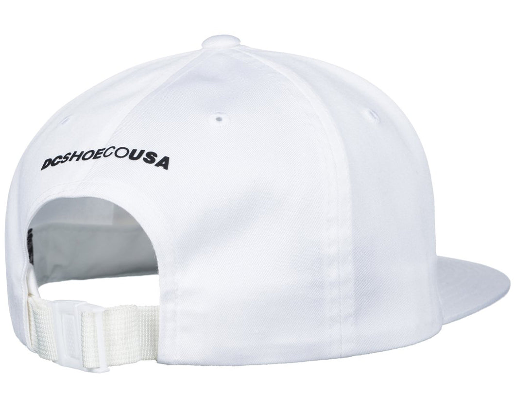 DC Shoes 2018 94 Collection Core Twill Dad Hat Snow White - WBB0