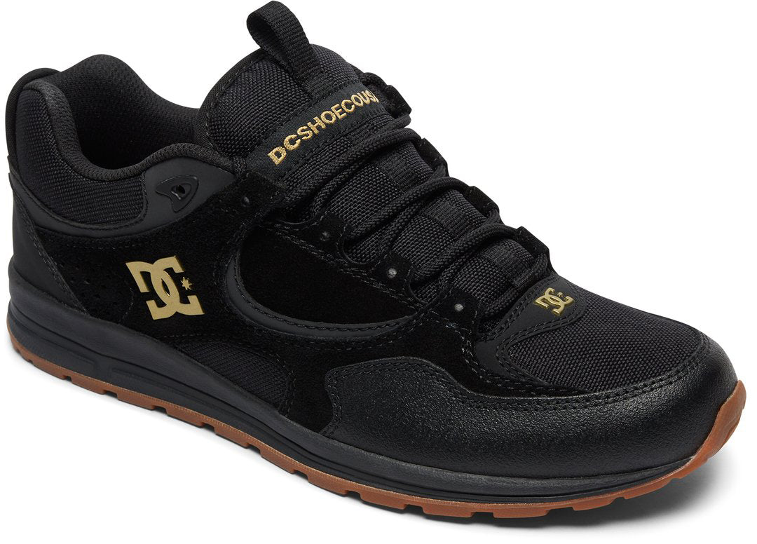 DC Shoes 2018 94 Collection Kalis Lite Shoes Black Gold - BG3
