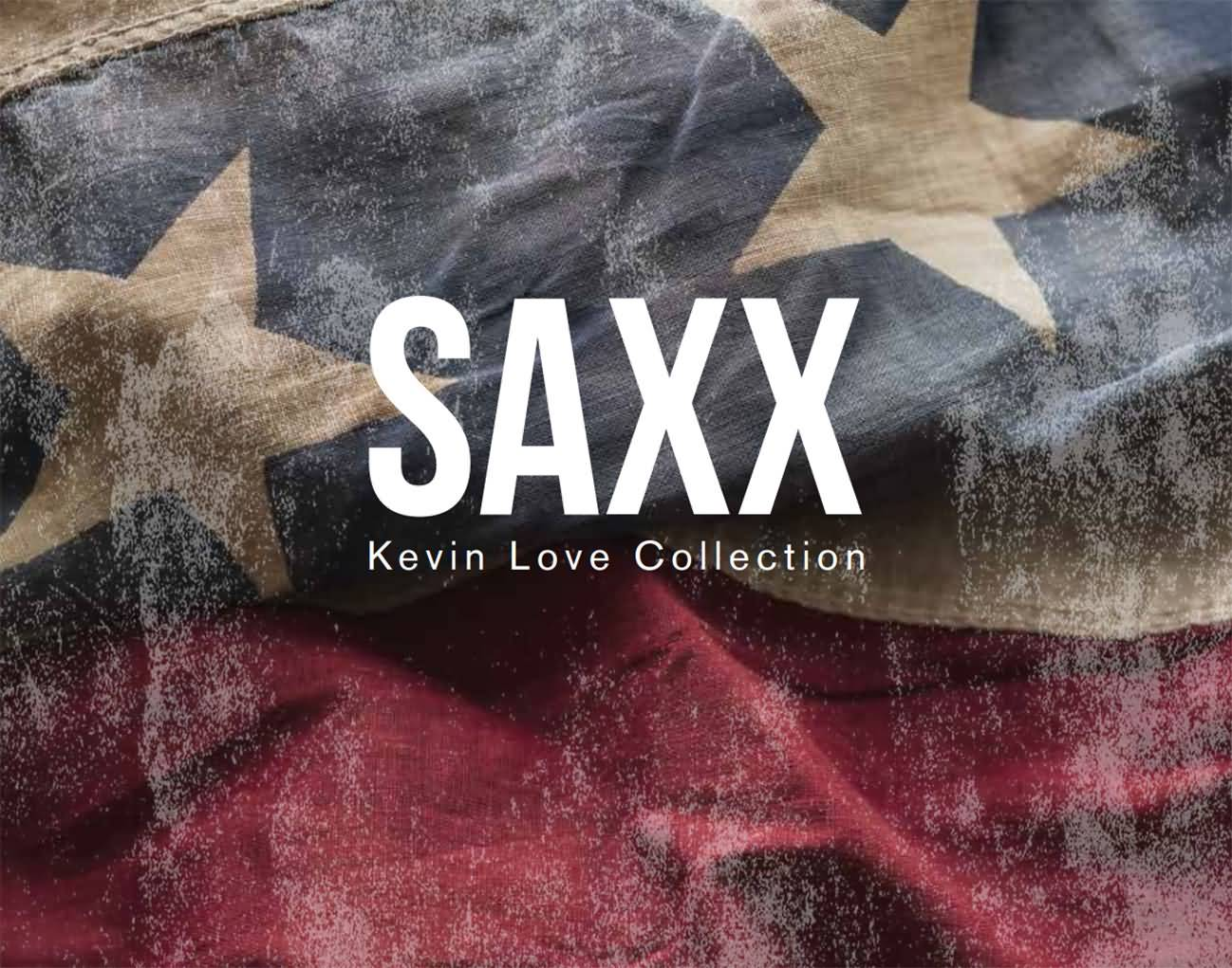 Saxx 2016 Holiday Kevin Love Supplemental Collection Announcement