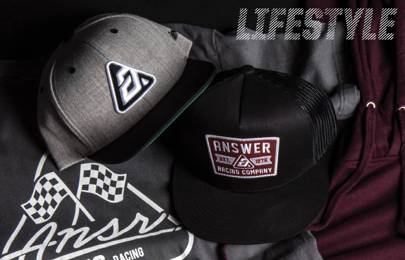 Answer Racing 2018 | Lifestyle Casual Hats Apparel Collection