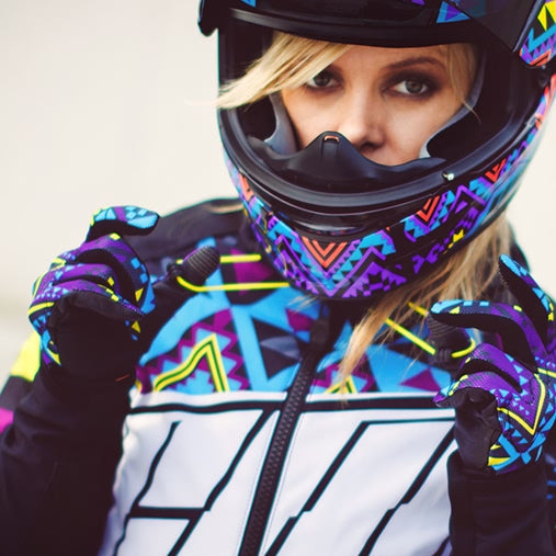 Icon Motorsports 2017 Womens Merc Georacer Motorcycle Street Jackets
