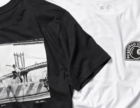 DC Shoes Tees Collection