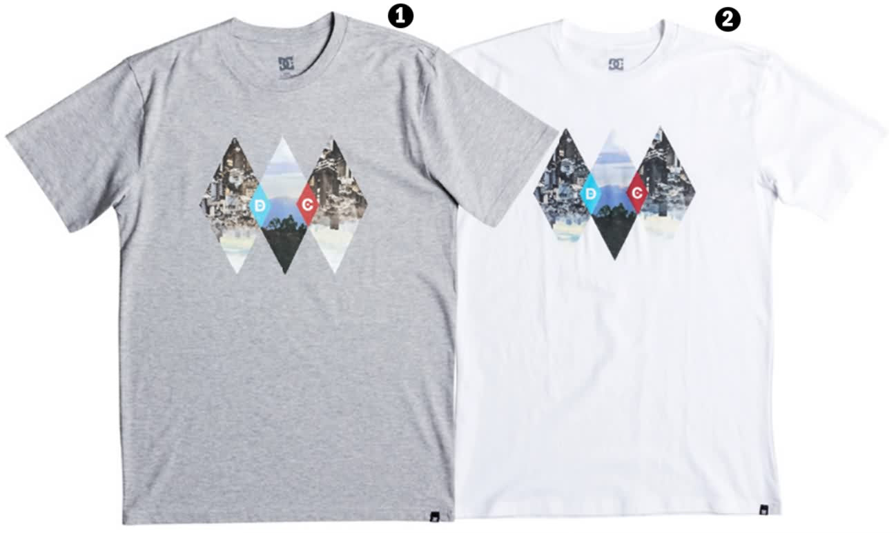 DC Shoes Summer 2017 Mens Tees Apparel Collection