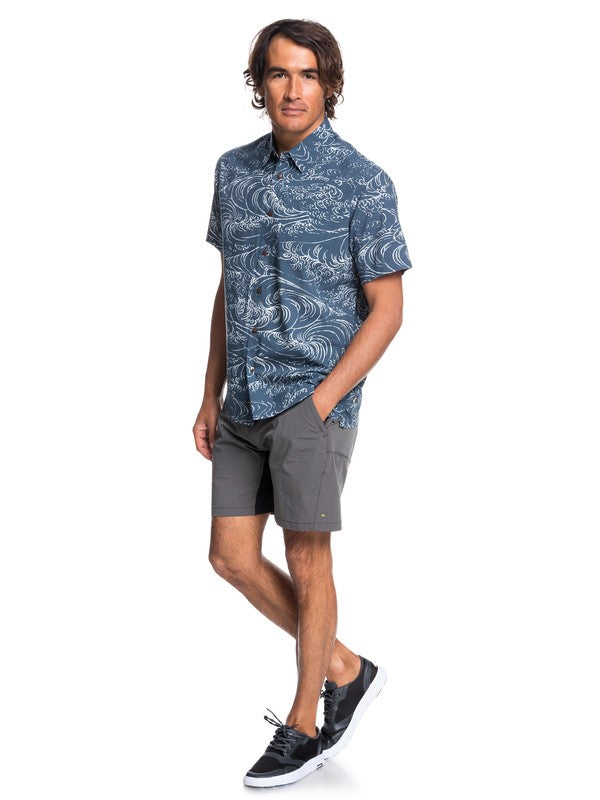 Waterman Wind And Waves Short Sleeve Shirt