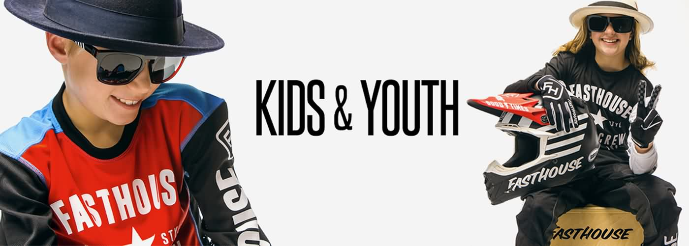 Fasthouse MX Fall 2016 Kids & Youth Boys Lifestyle Apparel Collection