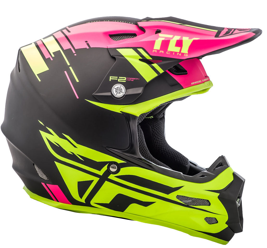 Fly Racing MX 2018 | F2 Carbon Forge MIPS Off-Road Motorcycle Helmets
