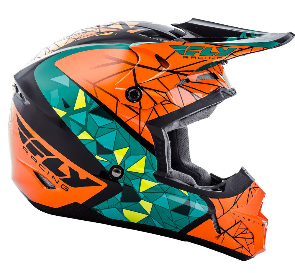 Fly Racing MX 2018 | Kinetic Crux Off-Road Motorcycle Helmets