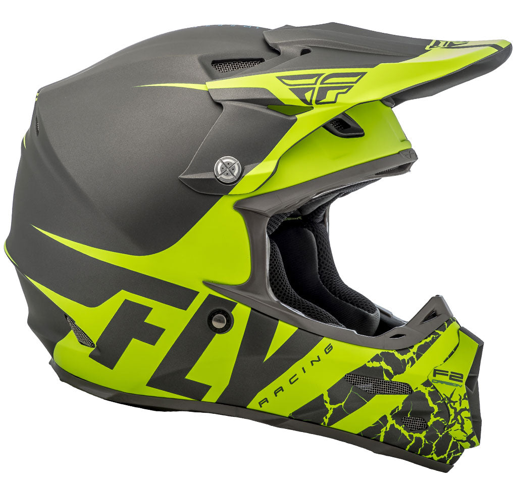 Fly Racing MX 2018 | F2 Carbon Fracture MIPS Off-Road Motorcycle Helmets