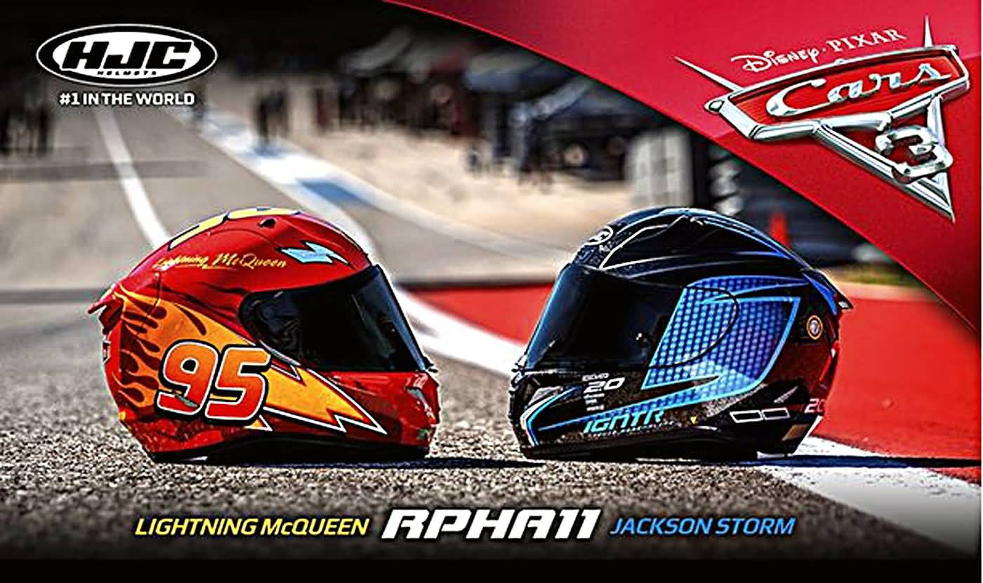 HJC Introduces Disney-Pixar's Race Action to the Moto World