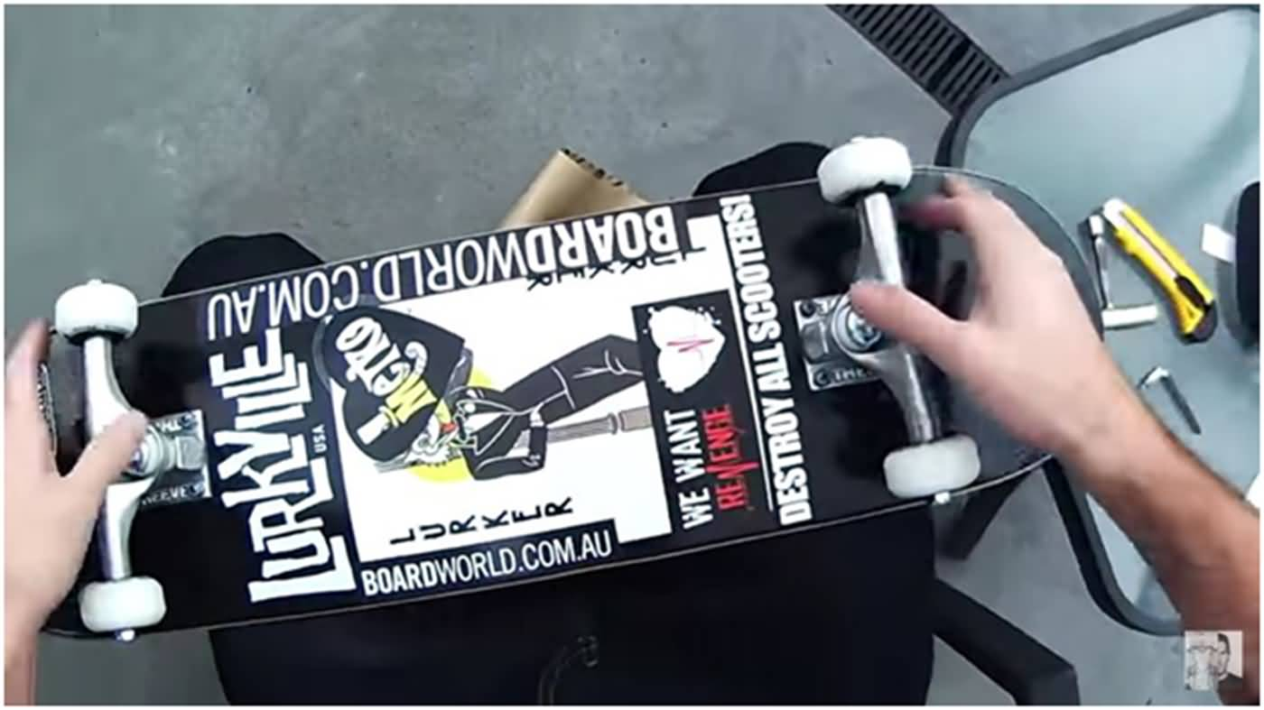 How to Assemble a Skateboard