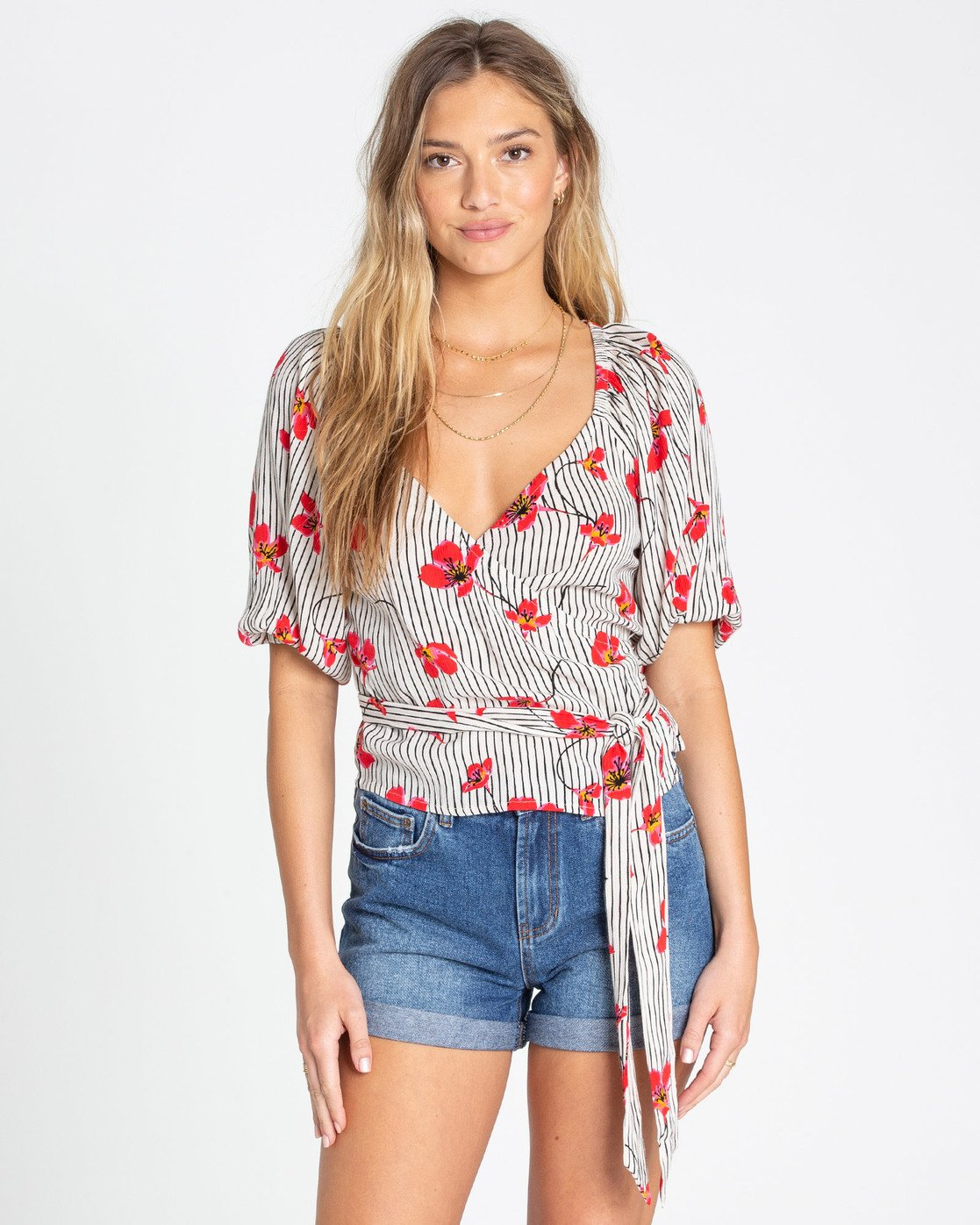 New Lust Wrap Top