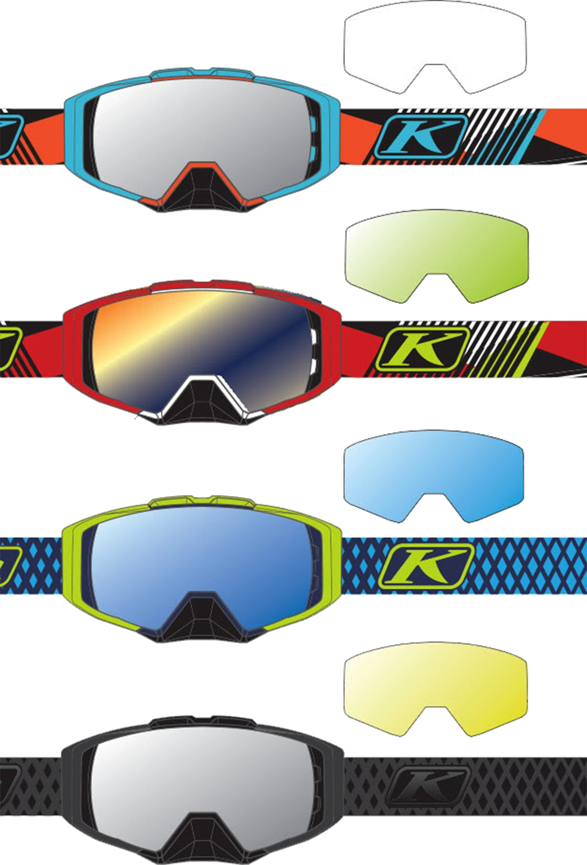 Klim Snow 2017 Winter Sports Goggles