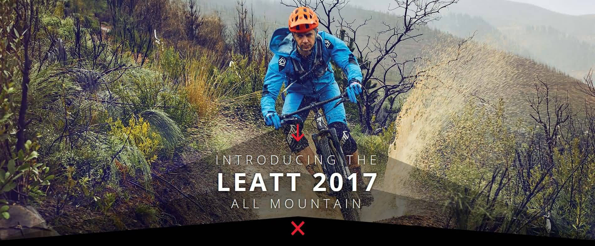 Introducing The Leatt 2017 All Mountain Bicycle Helmets