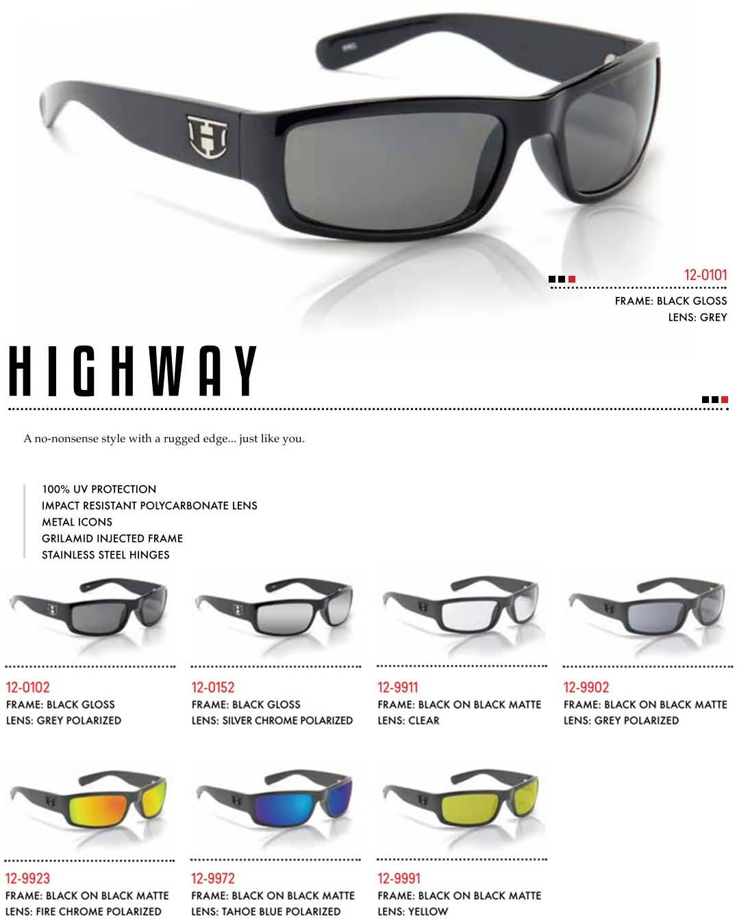 Hoven Vision Mens 2016 Sunglasses Collection