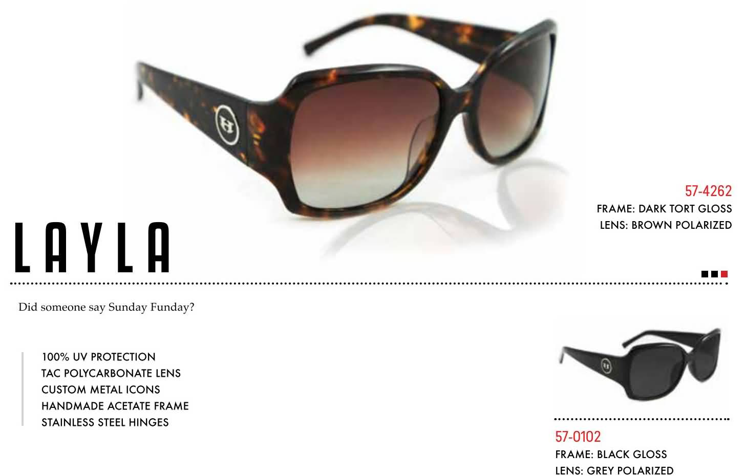 Hoven Vision Womens 2016 Sunglasses Collection
