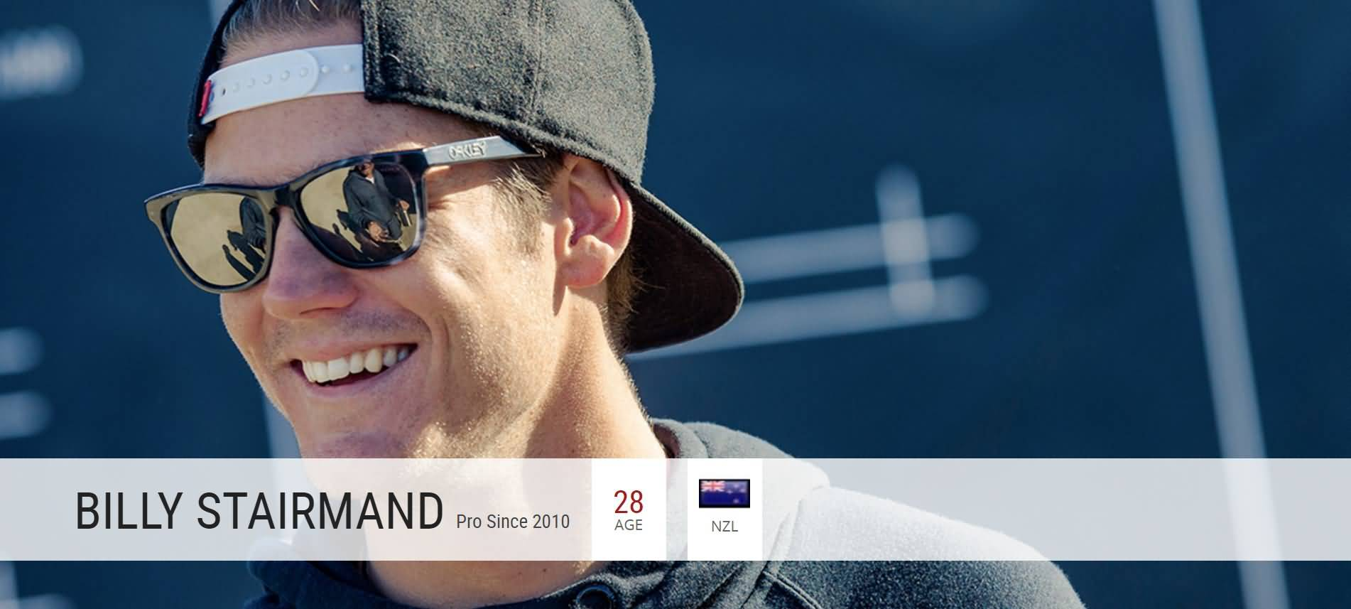Oakley Sport Surf Athletes BILLY STAIRMAND