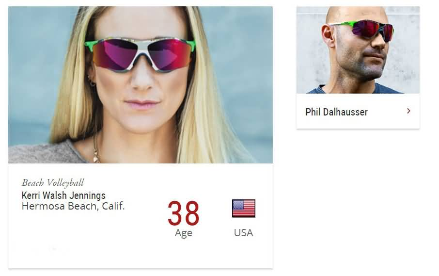 0913671f08a Oakley Beach volleyball eyewear athletes sport Prizm Polarized Lens ...