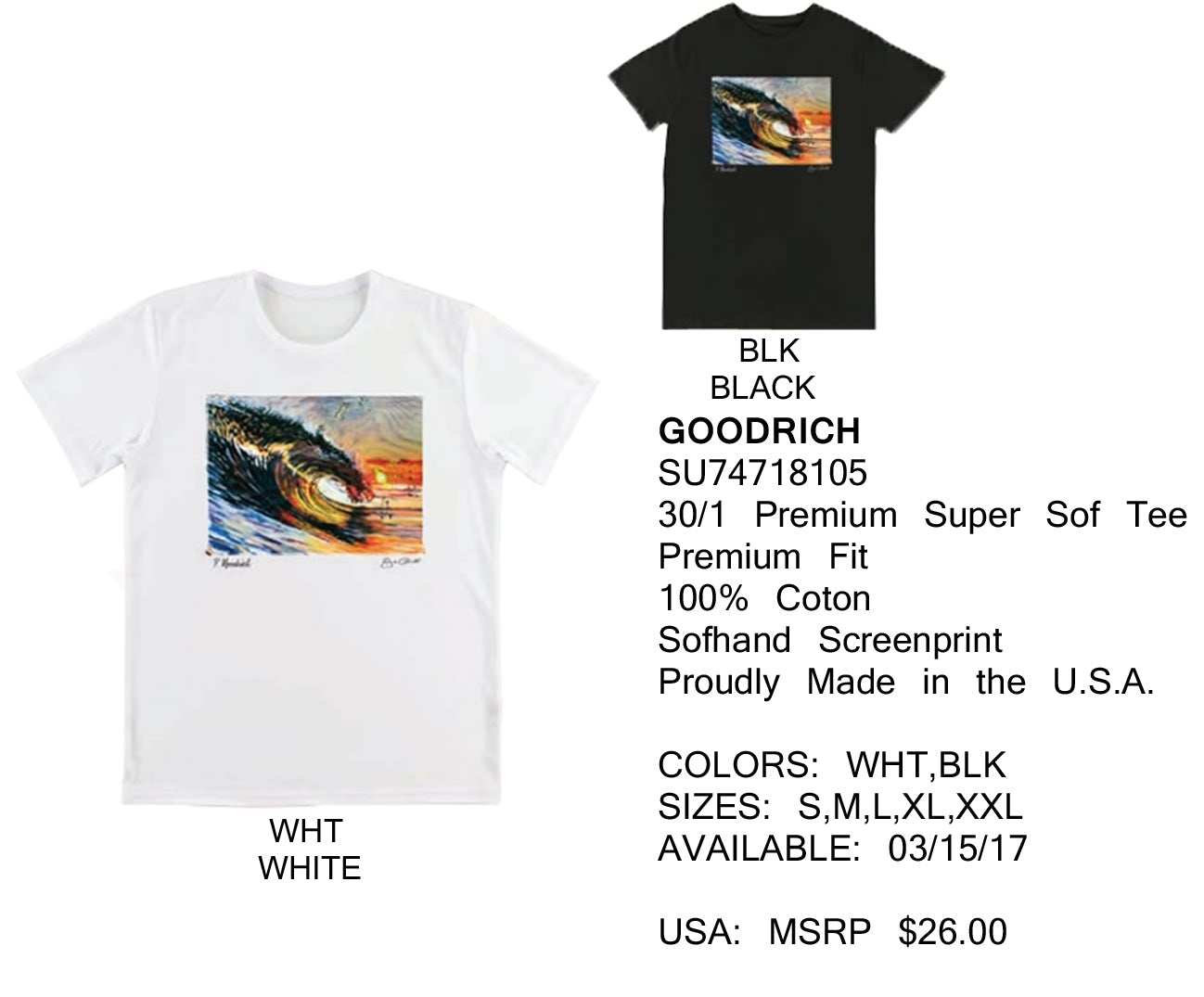 Jack O'Neill Summer 2017 Tees Shirts Collection