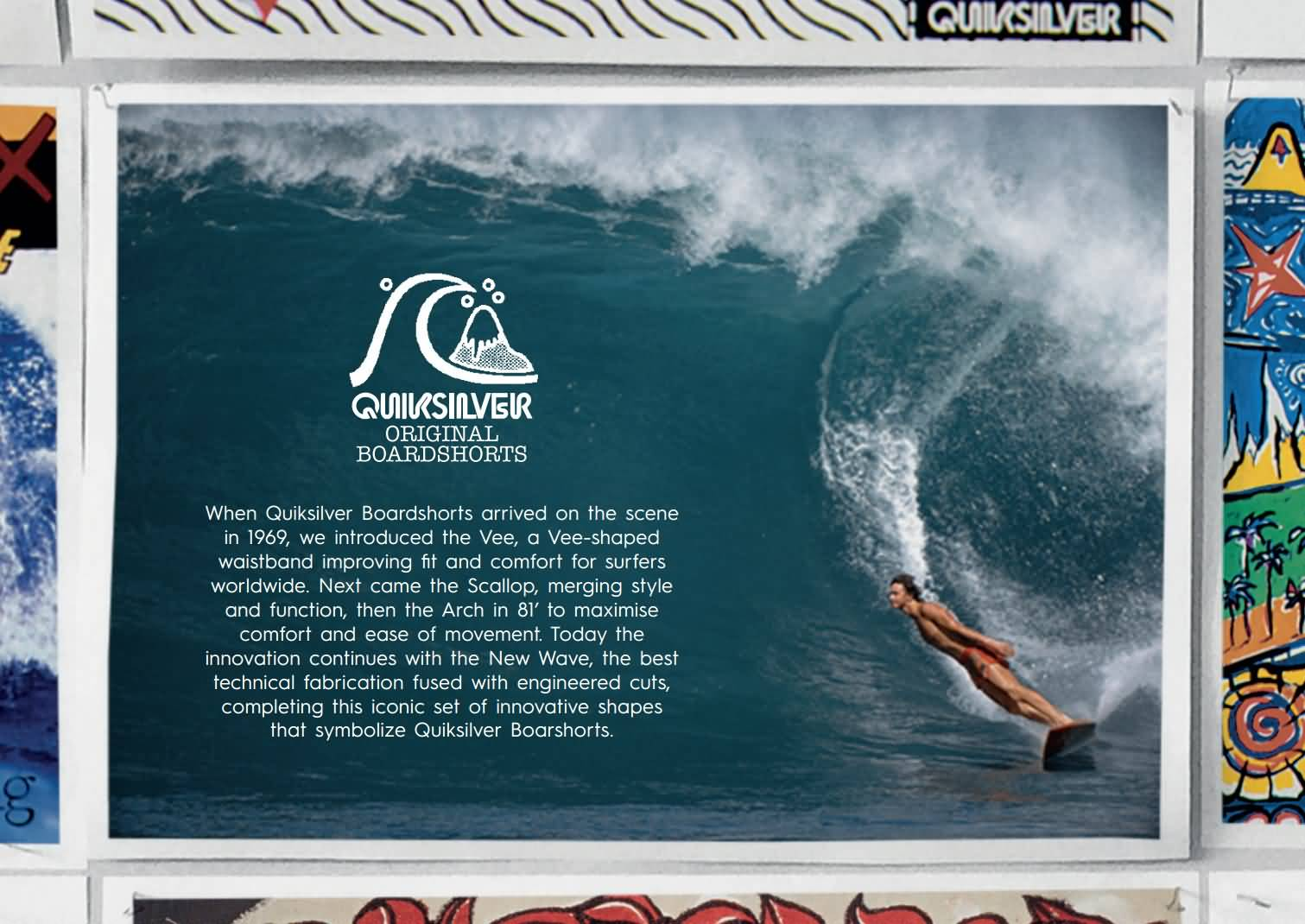 Quiksilver Mens Original & Mikey Wright Collection 2017