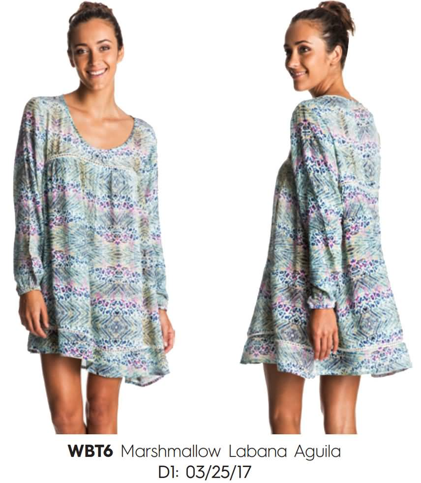 Roxy Womens Summer 2017 Beach Surfing Cover Up & Dress Collection