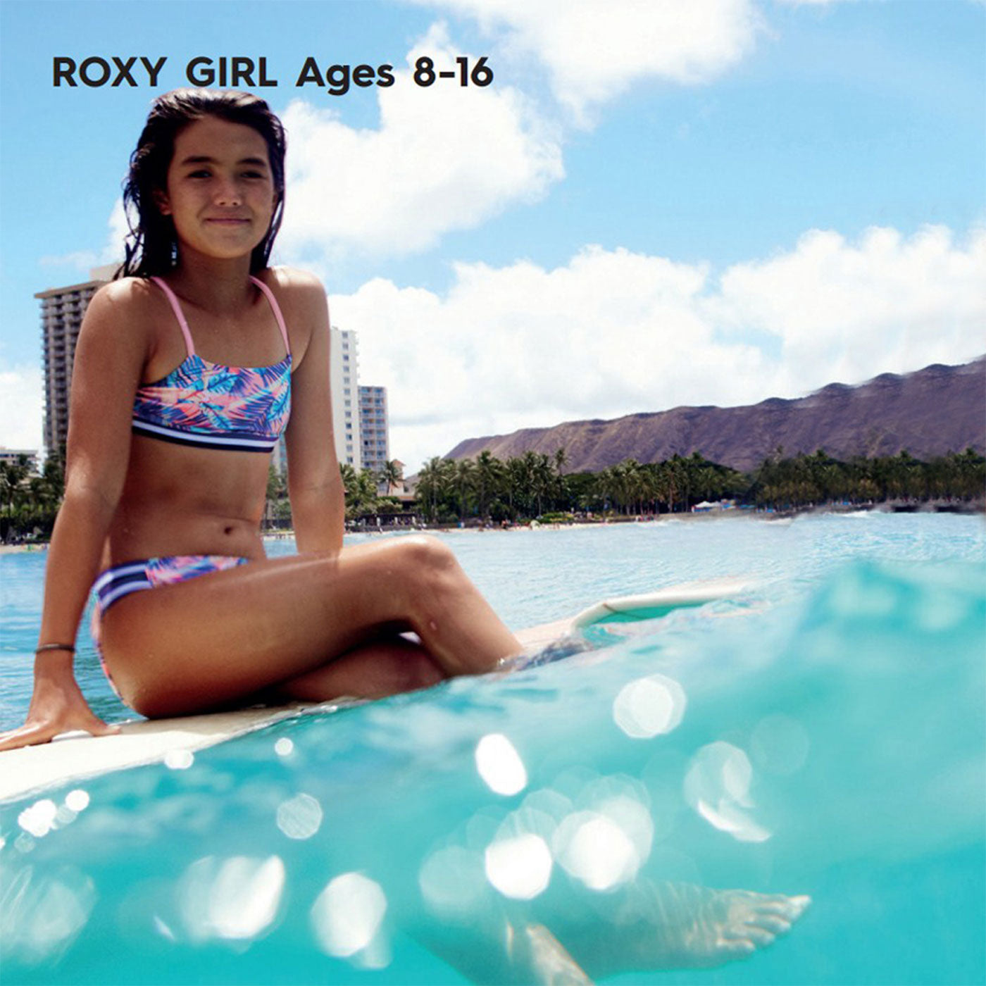 Roxy Surf Summer 2017 Young Girls Beach Surfing Swimwear Collection