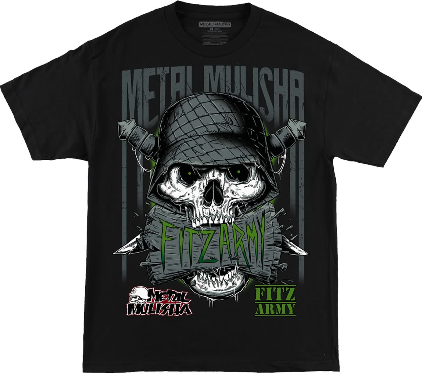 Metal Mulisha Spring 2017 Mens Tees Shirts Lookbook
