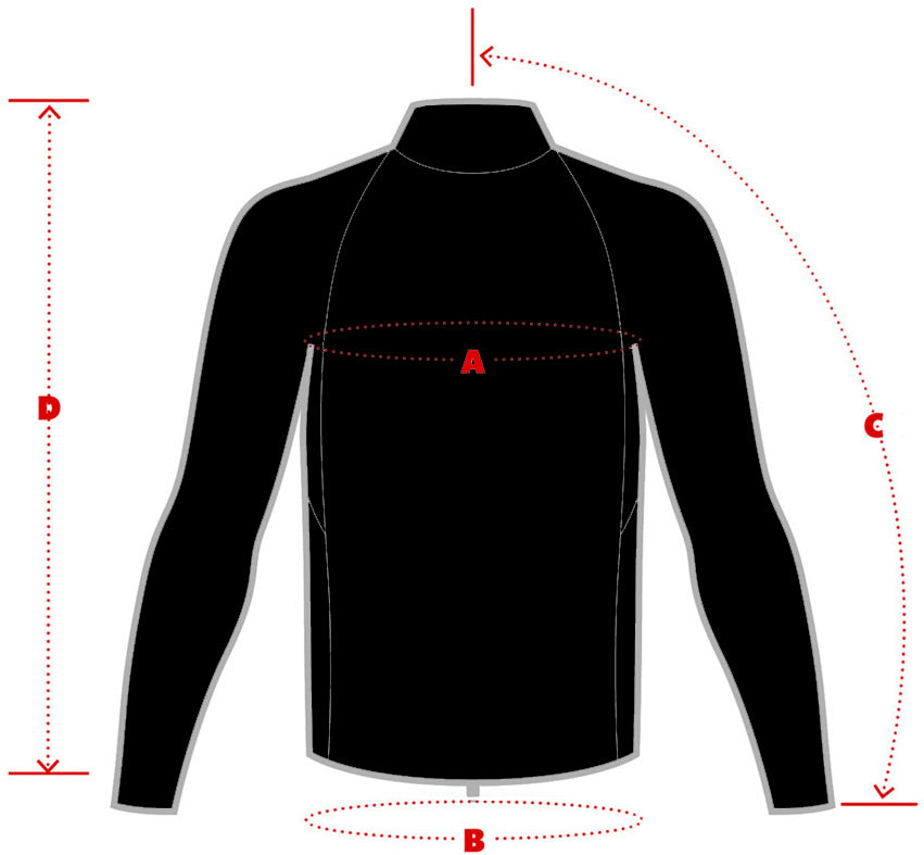 Okaley Mens Rashguards Size Chart