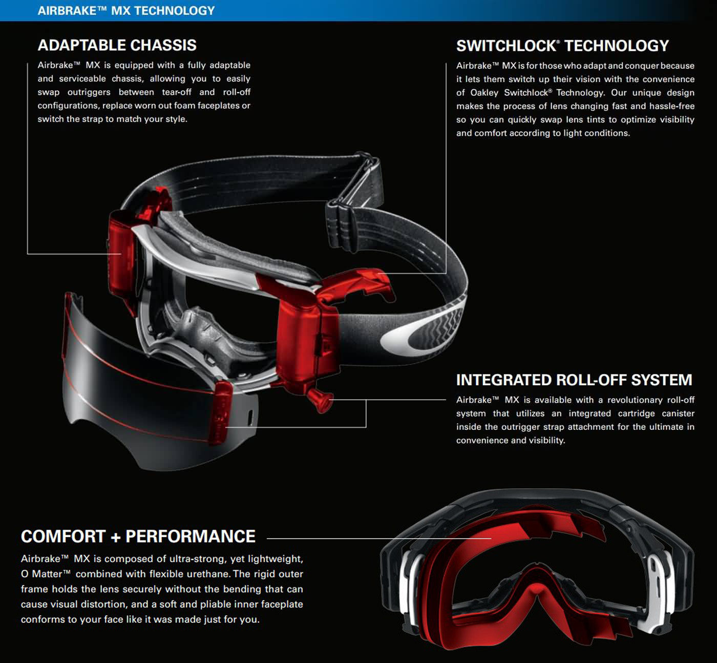 oakley tear off system