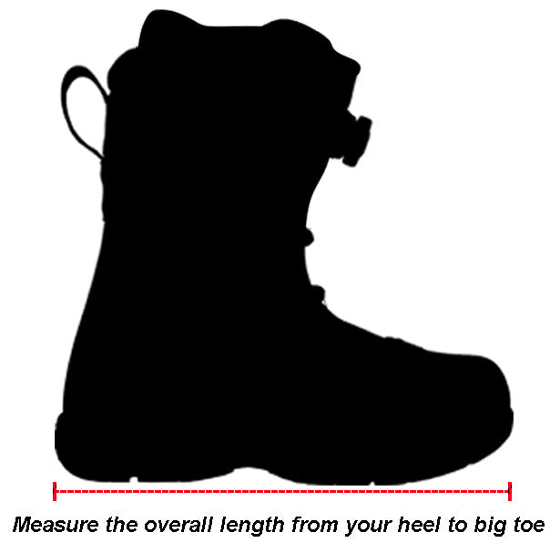 Shift MX Racing Boots Size Chart