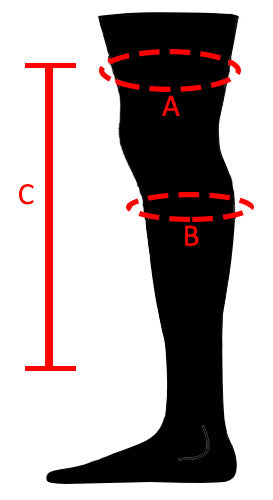 Shift MX Knee Guards Size Chart