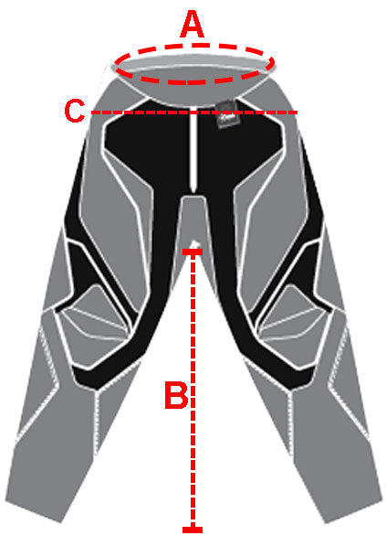 Fox Racing Men Size Chart