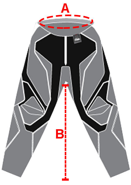 Shift MX Racing Men Size Chart