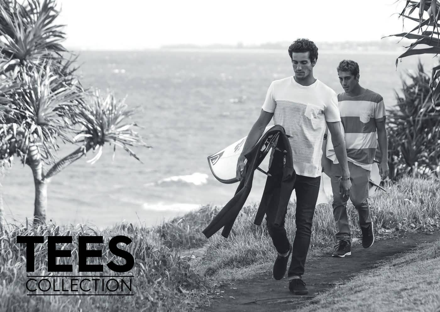 Quiksilver Summer 2017 Apparel | Mens Lifestyle Beach Tees