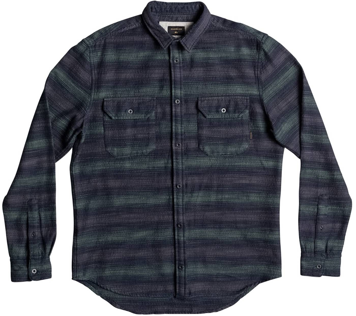 Quiksilver Surf Fall 2017 Mens Flannel Shirts Apparel Preview