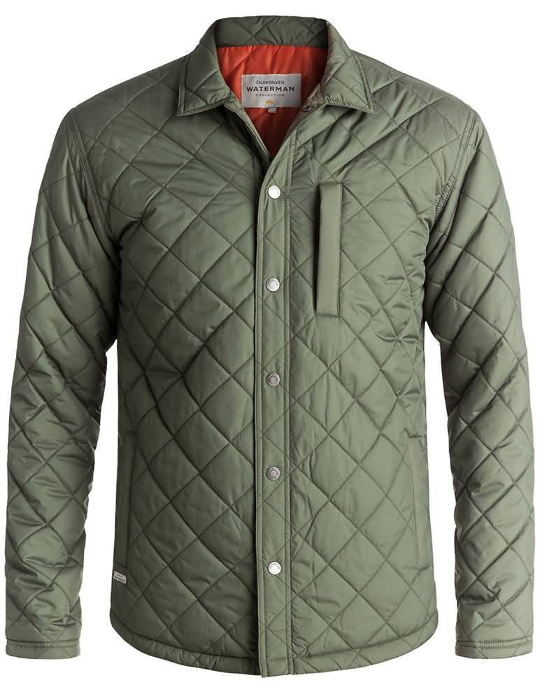 Quiksilver Waterman Fall 2017 Apparel | Mens Lifestyle Jacket Preview
