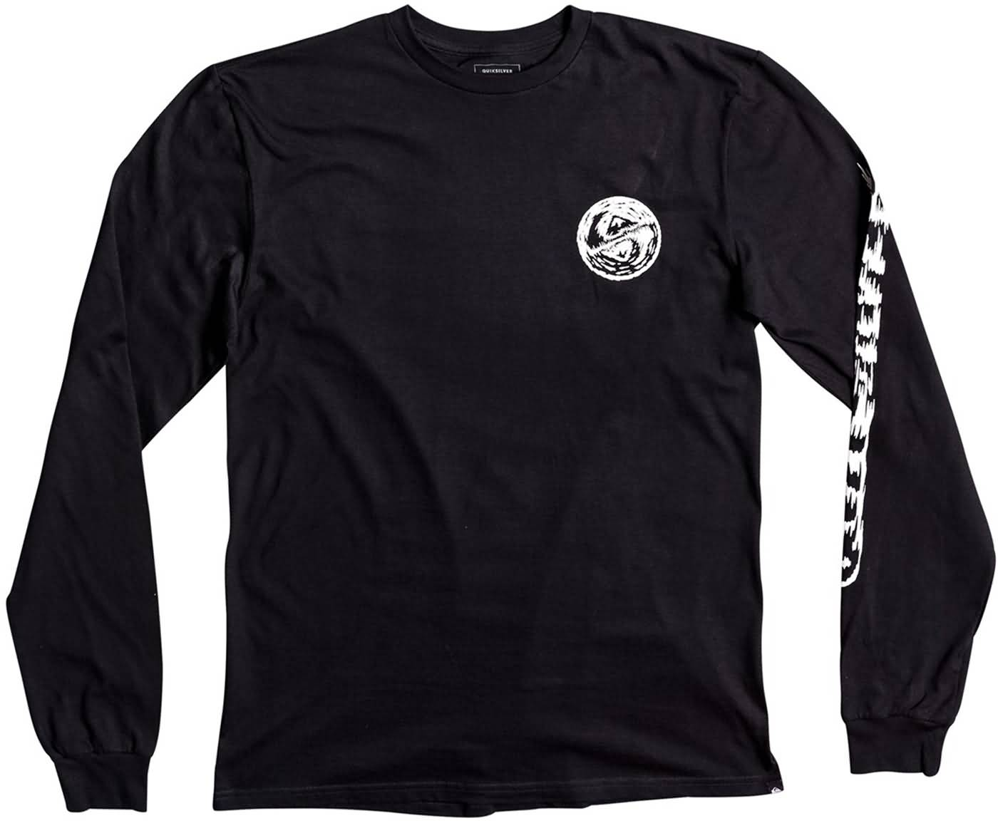 Quiksilver plain black t shirt - Quiksilver Surf Fall 2017 Mens Lifestyle Tee Shirts Preview Black Kvj0