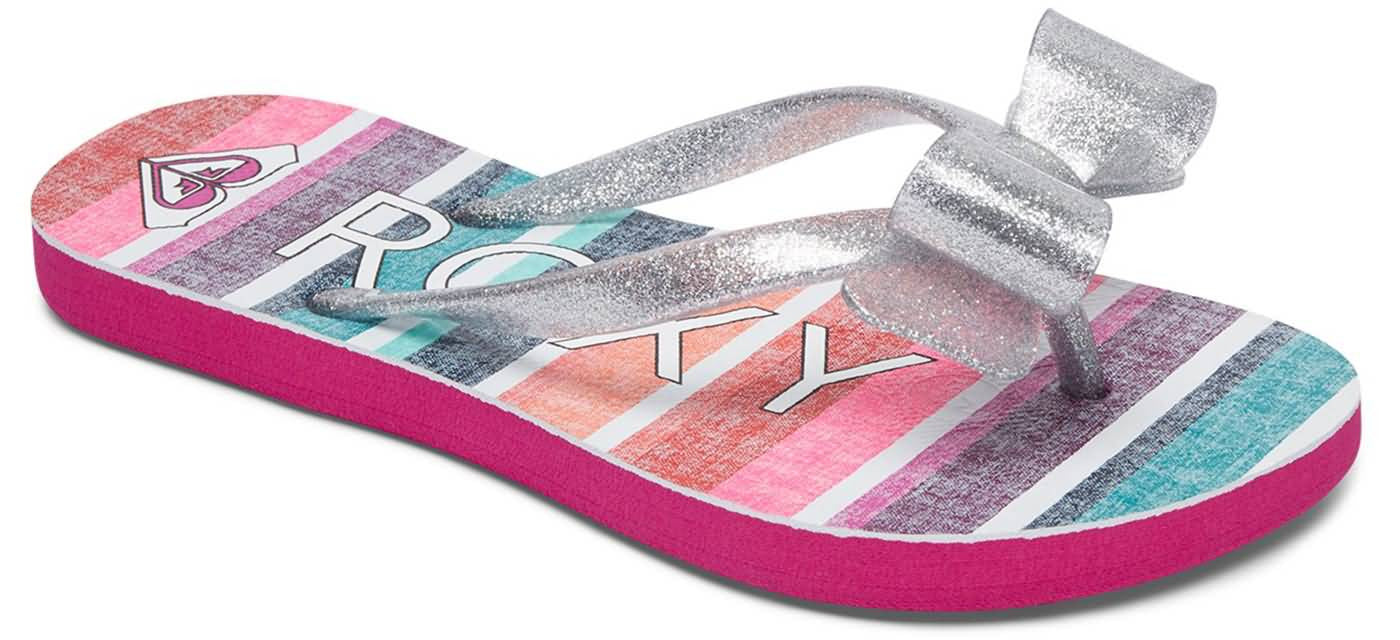 Roxy Surf Fall 2017 Footwear | Girls Beach Lifestyle Flip Flops