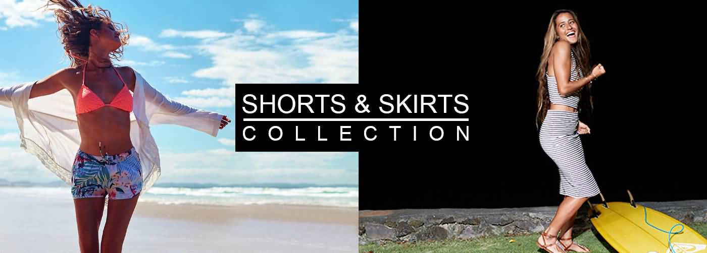 Roxy Surf Fall 2017 | Beach Lifestyle Shorts & Skirts Preview