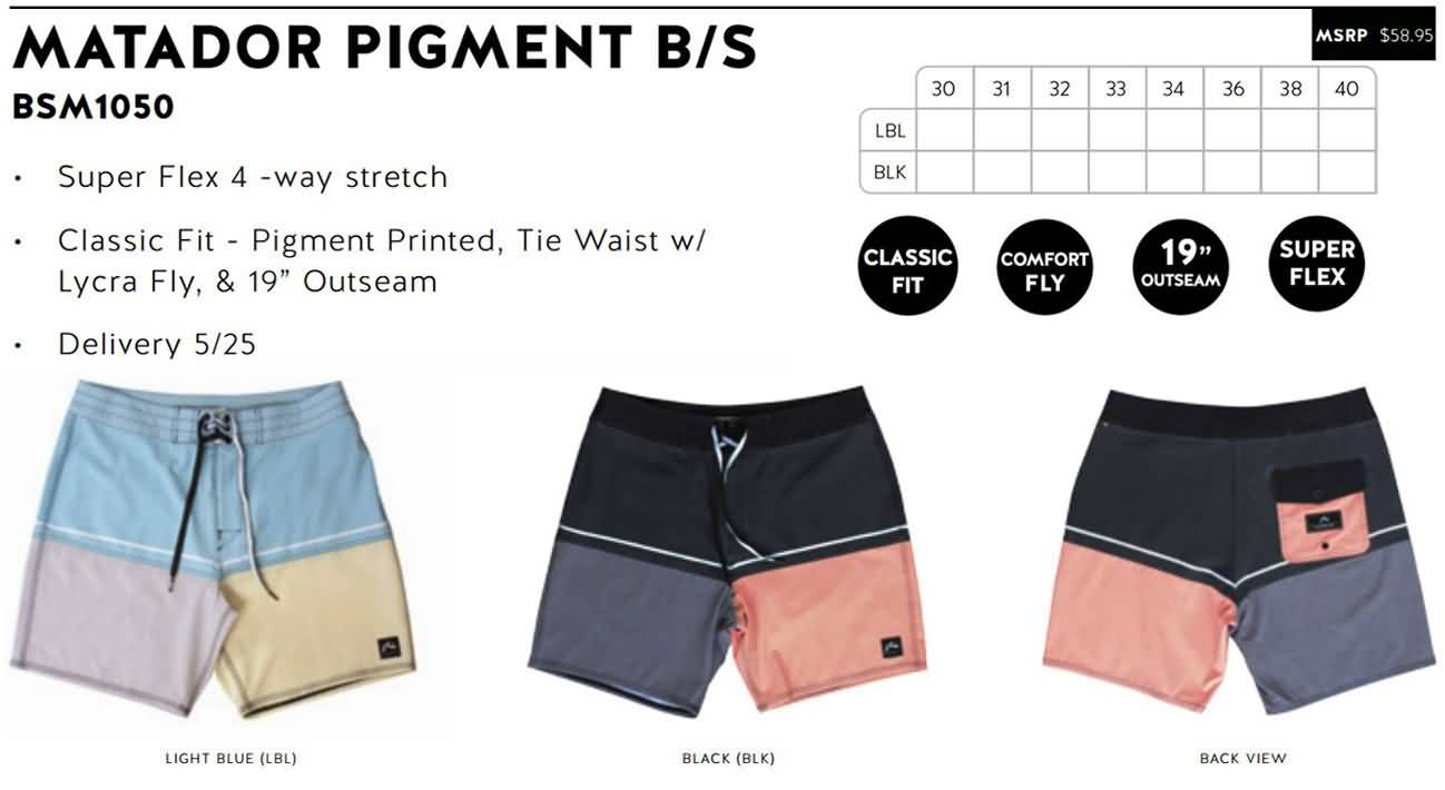 Rusty Mens Summer 2016 Collection