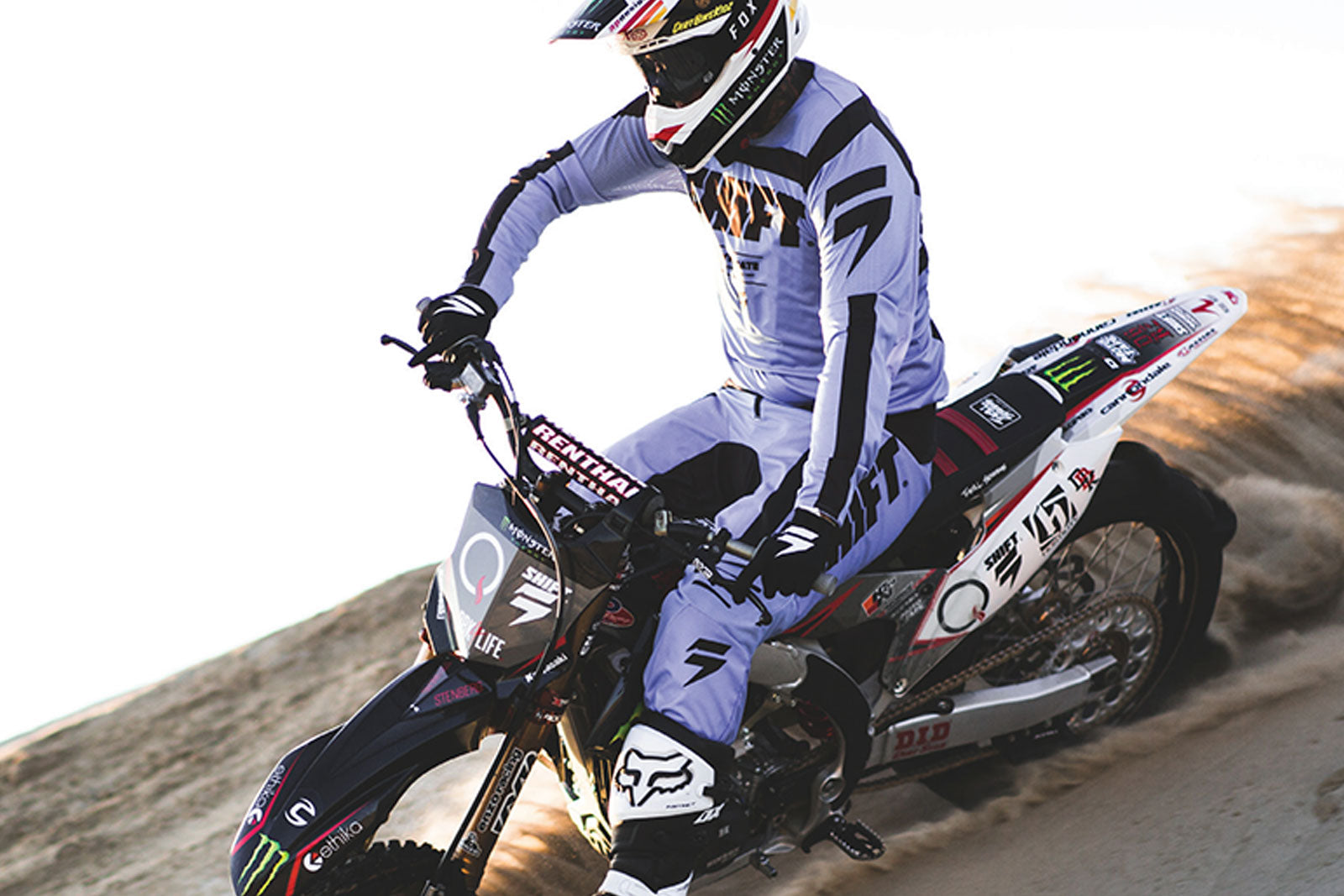 Shift Racing 2019 Black Label Caballero X Lab & G.I. Fro MX Racewear