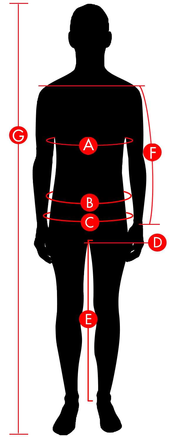 Alpinestar Men Size Chart