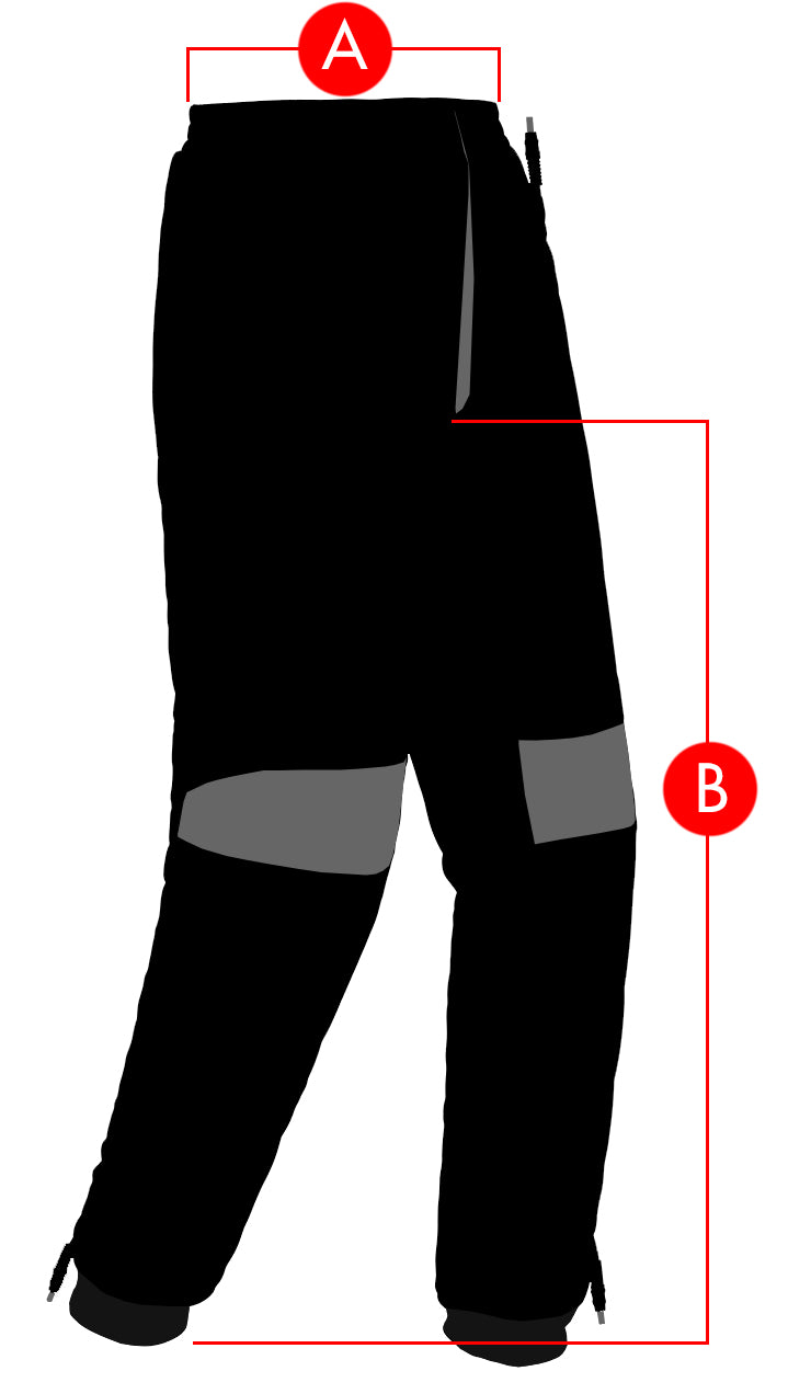 Tour Master Synergy Pants Size Charts