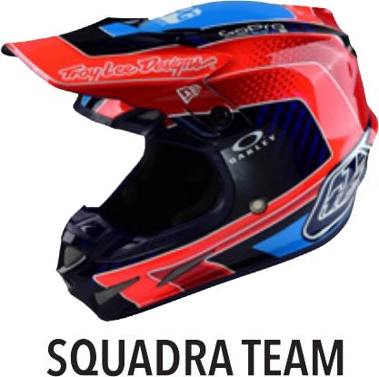 TROY LEE DESIGNS TLD SE4 YOUTH HELMET FREEDOM RED WHITE KIDS MOTOCROSS BMX NEW