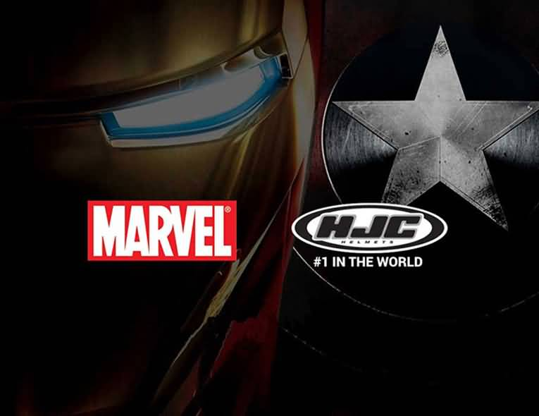 HJC Marvel Helmets Collection