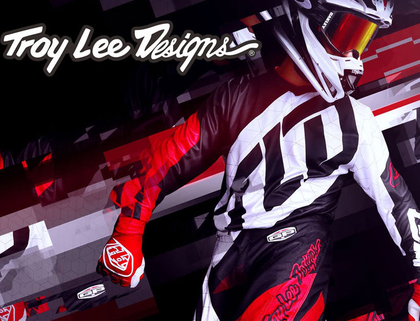 Troy Lee Designs Store Wall